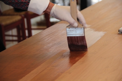 The EZ-Do product is self-leveling to eliminate runs and lap marks. After sanding the first coat with 400-grit and wiping with a tack cloth, you can add successive coats to build up thicker protection.
