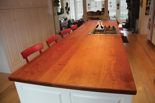 Refinishing A Cherry Wood Countertop Extreme How To