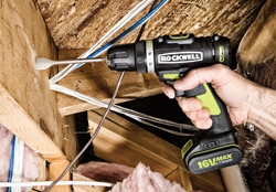 Rockwell Tools offers a 16V line-up with more power than its 12V lineup but without the bulk and weight associated with 18Vtools.
