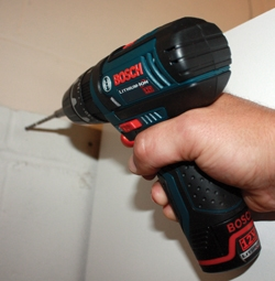 """At 7.3"""" long, 7.1""""tall and weighing only 2.3 lbs., the new Bosch PS130 12V Max is the most compact, powerful hammer-drill/driver in its class."""