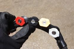 The right nozzle also makes a big difference in pressure washer performance. Hyde Tools offers the most commonly used nozzles in a handy strap that conveniently attaches to the pressure-washer hose.