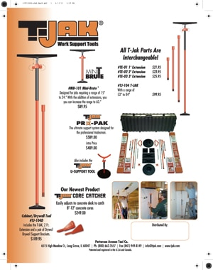 T-JAK Cabinet Jack Gives Installation Projects a Lift - Extreme How To