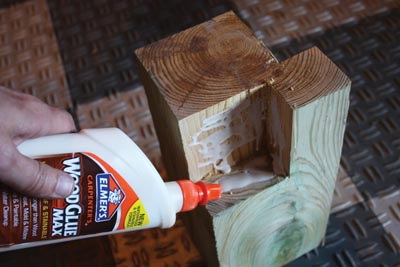 Wood glue used at all joints will help eliminate squeaking in the bed.