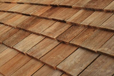 No need to fake it here: Genuine cedar shake or shingle roofing offers that signature classic look and long-term weather protection.