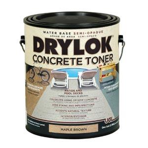 DRYLOK Concrete Toner Label