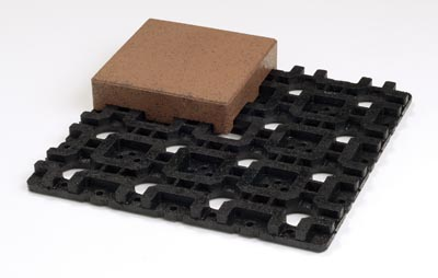 """AZEK pavers come in a variety of sizes, including a new 8x8"""" size."""