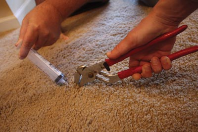 Repair A Carpet Bubble Extreme How To