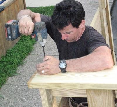 Make and install the materials handlers, aka 'racks'.
