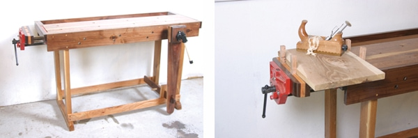 Groovy Build The Perfect Workbench Extreme How To Ibusinesslaw Wood Chair Design Ideas Ibusinesslaworg