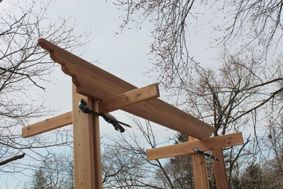 Clamps and cleats make installing girders much easier and safer.