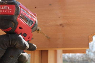 A long-lasting, quick-to-install rafter assembly can be done with a framing nailer or deck screws. Notching is not necessary. We've also had excellent, long-term success with using structural screws connecting pergola rafters to post.