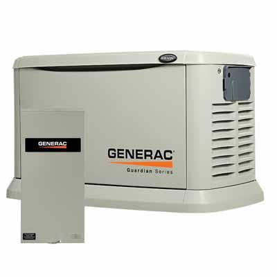generac 22kW 200amp