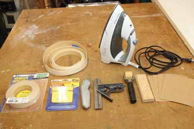 You'll need these tools and materials for the project.