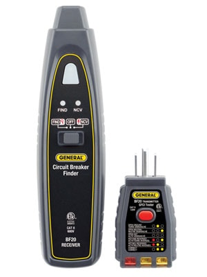 Circuit Breaker Finder with NCV Detector & GFCI Outlet Checker_BF20