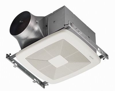 Bathrooms are prone to moisture and thus mold and mildew. To help address these problems, Broan-NuTone's new ULTRA Green Ventilation Fan features unique sensing technology that detects humidity or motion. The ULTRA fan is energy-efficient and exceptionally quiet, operating with sound levels of less than 0.3 Sones—the lowest rating achievable.