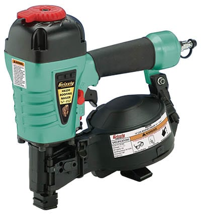 Grizzly H8230 Coil Roofing Nailer