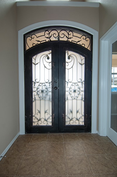 Arched Wrought Iron Entry Doors Extreme How To