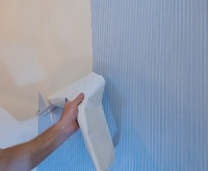 Some Vinyl Wallpapers Can Be Removed By First Peeling Off The Top Layer
