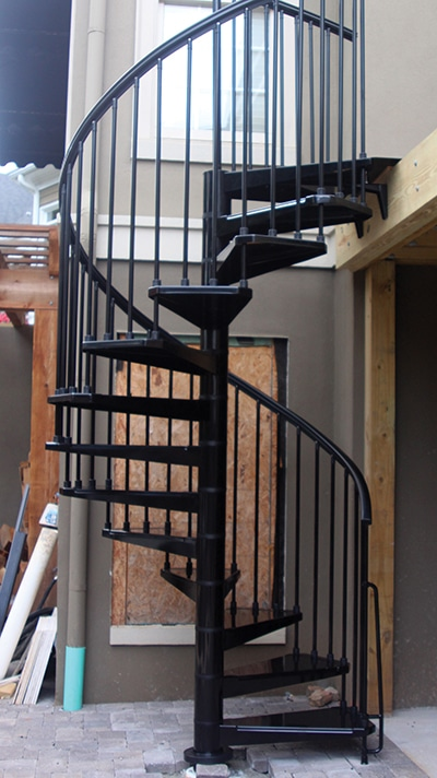 DIY Spiral Stairs   Extreme How To