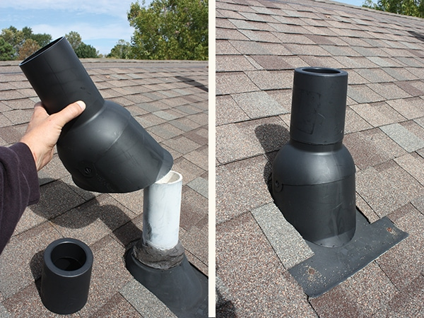 Sealing Leaks In Pipes : Sealing roof pipes