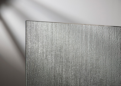 A variety of glass options offer privacy and artistic décor. Photos courtesy Basco Corp.