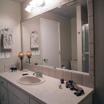 Install a Tile Backsplash with a Matching Mirror Frame
