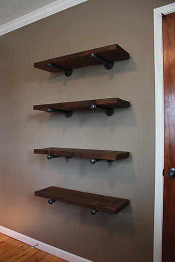 Pipe Bracket Shelving Extreme How To