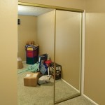 Full-length Mirror Bypass Doors, Make a Room Look Bigger
