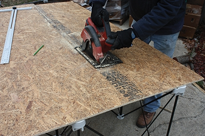 """Installation requires a substrate of 7/16"""" or greater OSB or plywood."""