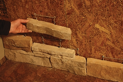 Installing mortarless stone veneer extreme how to for Mortarless stone veneer panels