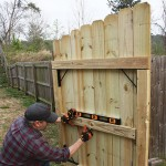 Sagging Fence Gate