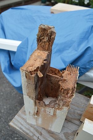 Structural Porch Column Rot Repair - Extreme How To