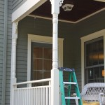 Structural Porch Column Rot Repair