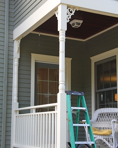 Porch Post Repair