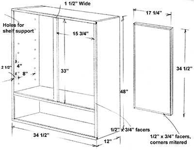 Locking Tool Cabinet measurements