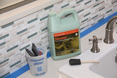 Materials need for sealing Tile and Grout