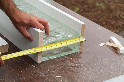 Measuring Glass Blocks