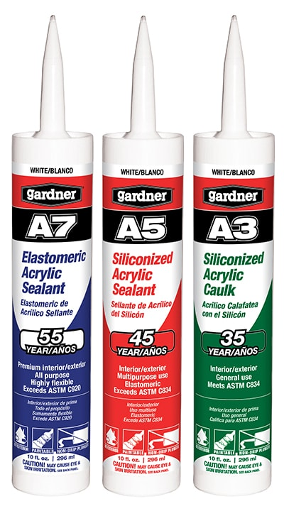 Gardner caulk products extreme how to for Gardner products