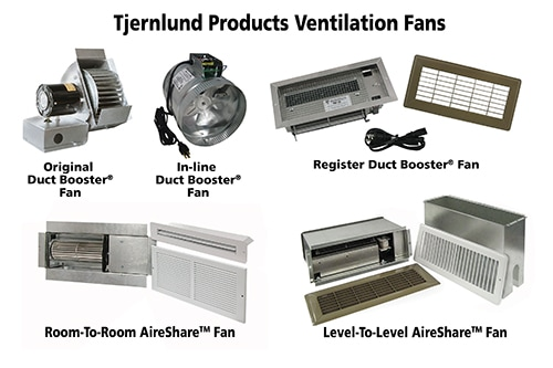 Square Duct Booster Fan : Cost effective solutions for too cold or warm rooms