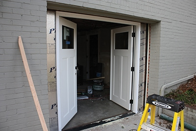 Double Door Garage Conversion Extreme How To