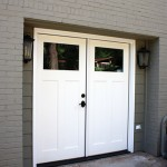 Double-Door Garage Conversion