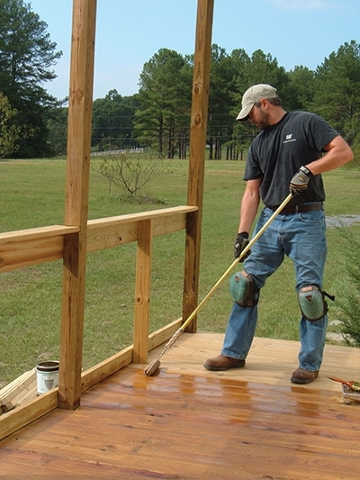 how to seal wood for outdoor use