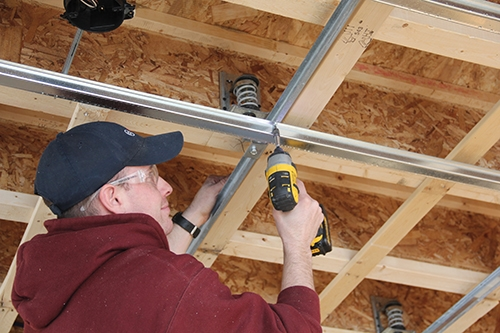 Soundproofing methods for walls and ceilings extreme how to for Basement construction methods