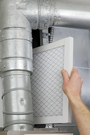 Replace your HVAC filter routinely so your system doesn't have to work as hard. Studies have shown the inexpensive disposable filters work as good or even better than more expensive filters, as long as they're changed regularly according to the manufacturer's reccomendations.