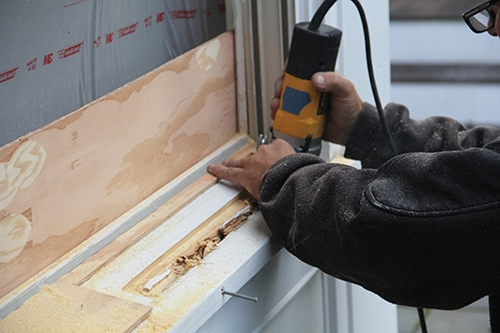 Patching rotted window sills extreme how to for Diy window replacement