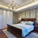 luxury bedroom interior and decoration