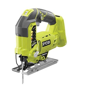 This new Ryobi 18V ONE+ jigsaw features the patented BladeSaver innovation to get the most use from every blade. A first-to-market innovation, the BladeSaver features a drop base design that allows users to adjust the base to utilize unused teeth, resulting in optimal blade use.