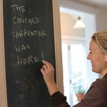 Make a Custom Slate Chalkboard