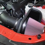 Installing a New Intake in a Dodge Challenger