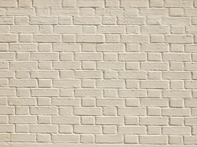 One option for brick paint is an elastomeric wall coating, which is applied in very thick films. These products are tough and flexible, and stretch as cracks underneath open and close.